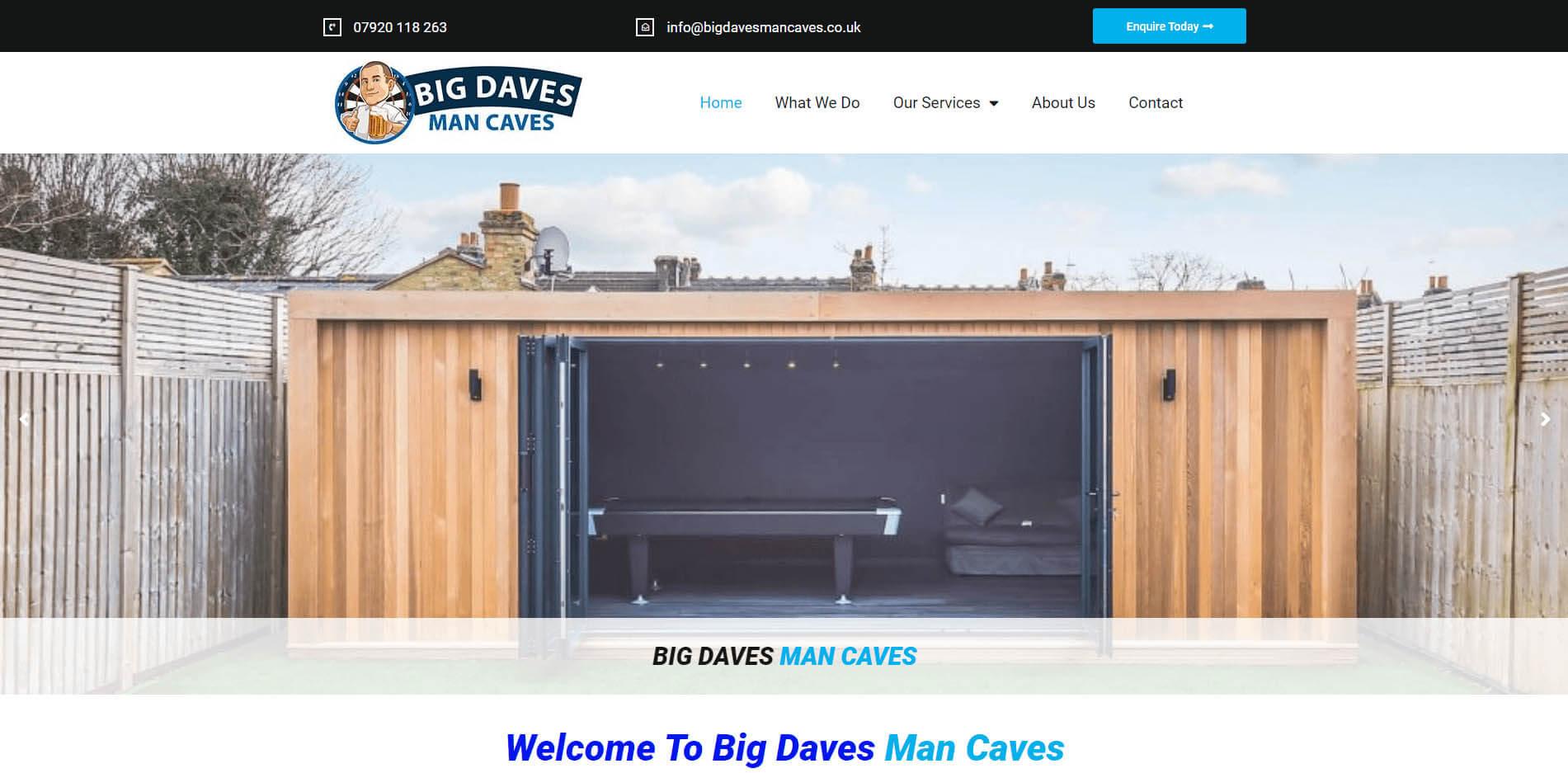 Big Daves Man Caves