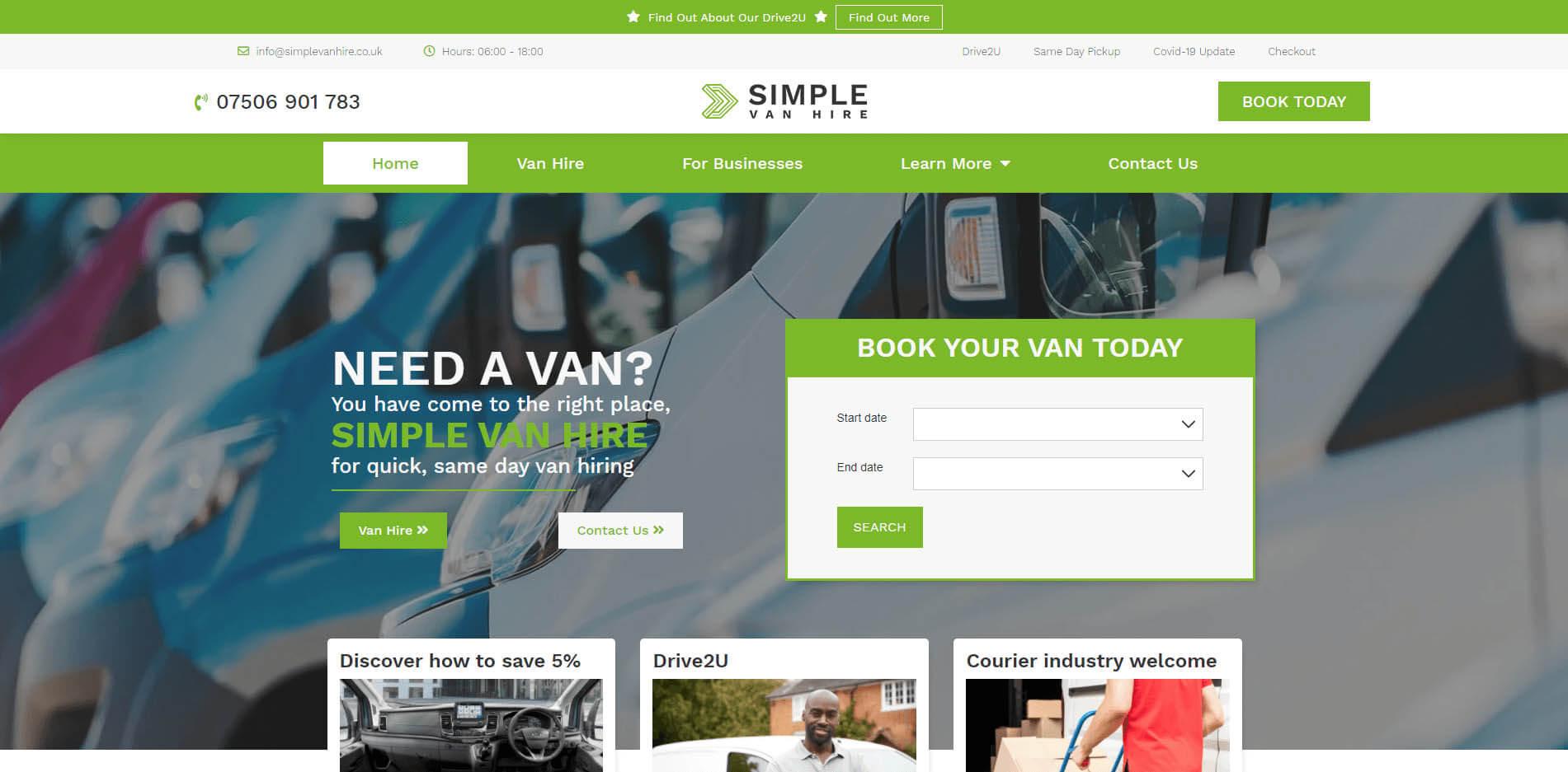 Simple Van Hire